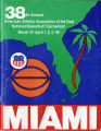 1982 American Athletic Association of the Deaf National Basketball Tournament Souvenir Program