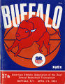 1981 American Athletic Association of the Deaf National Basketball Tournament Souvenir Program