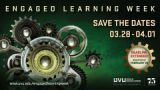 Engaged Learning Week Save the Dates poster 3