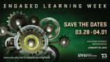Engaged Learning Week Save the Dates poster 2