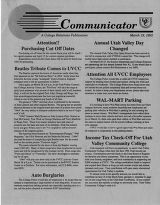 Utah Valley Community College Communicator 1992-03-19