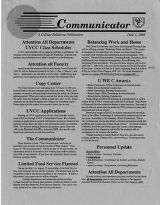 Utah Valley Community College Communicator 1992-06-01