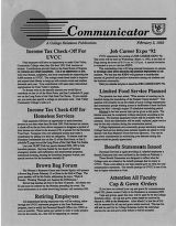 Utah Valley Community College Communicator 1992-02-03
