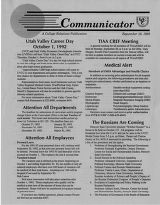 Utah Valley Community College Communicator 1992-09-16
