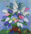 Lilacs with Grapes